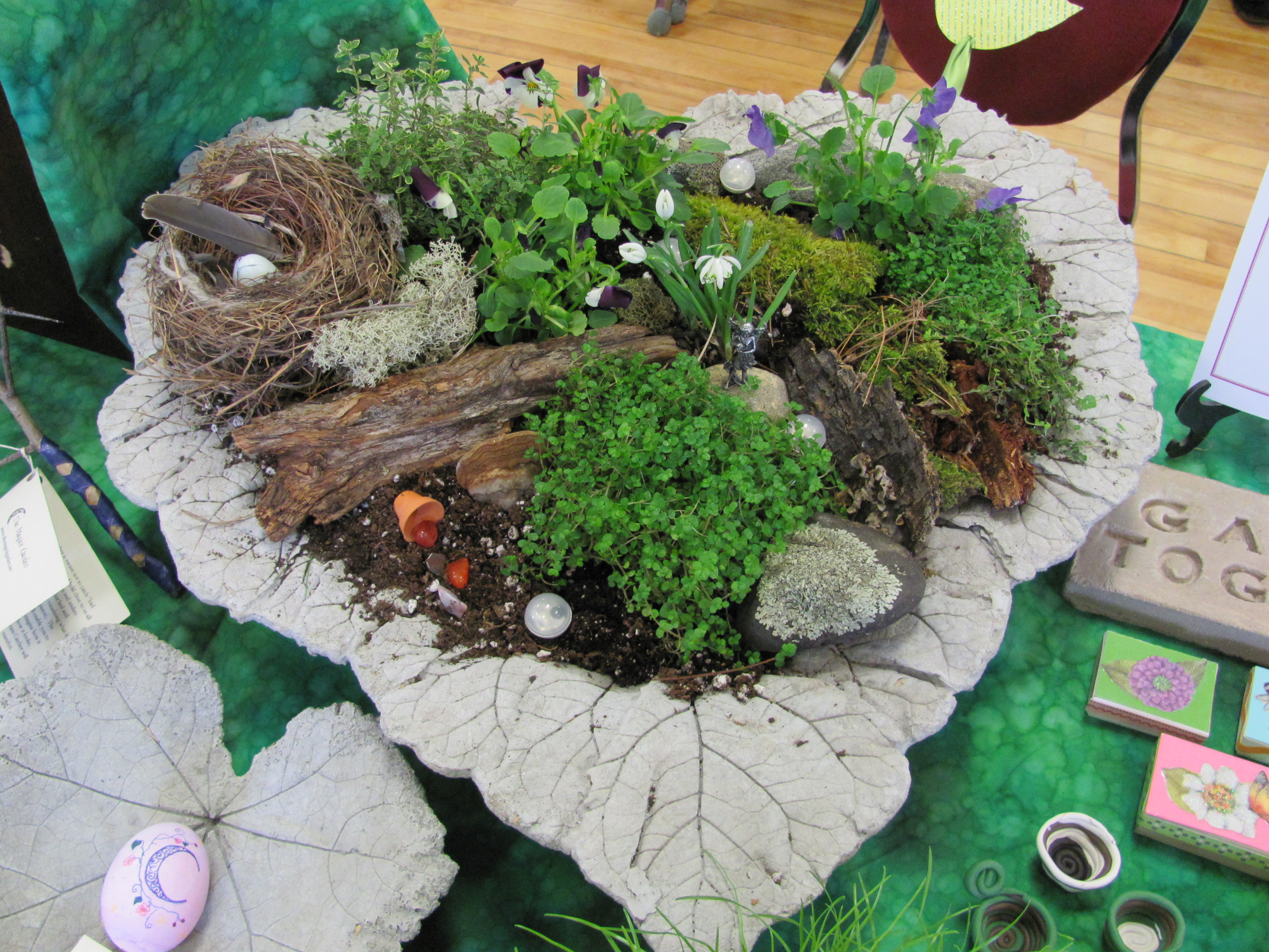THE FAE WINGS MAKE YOUR OWN FAERY GARDEN